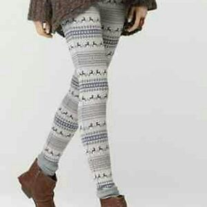 FP Fair isle Reindeer Sweater Leggings
